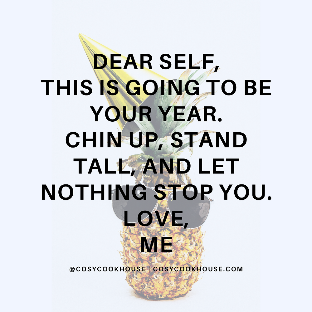 Note To Self This Coming New Year