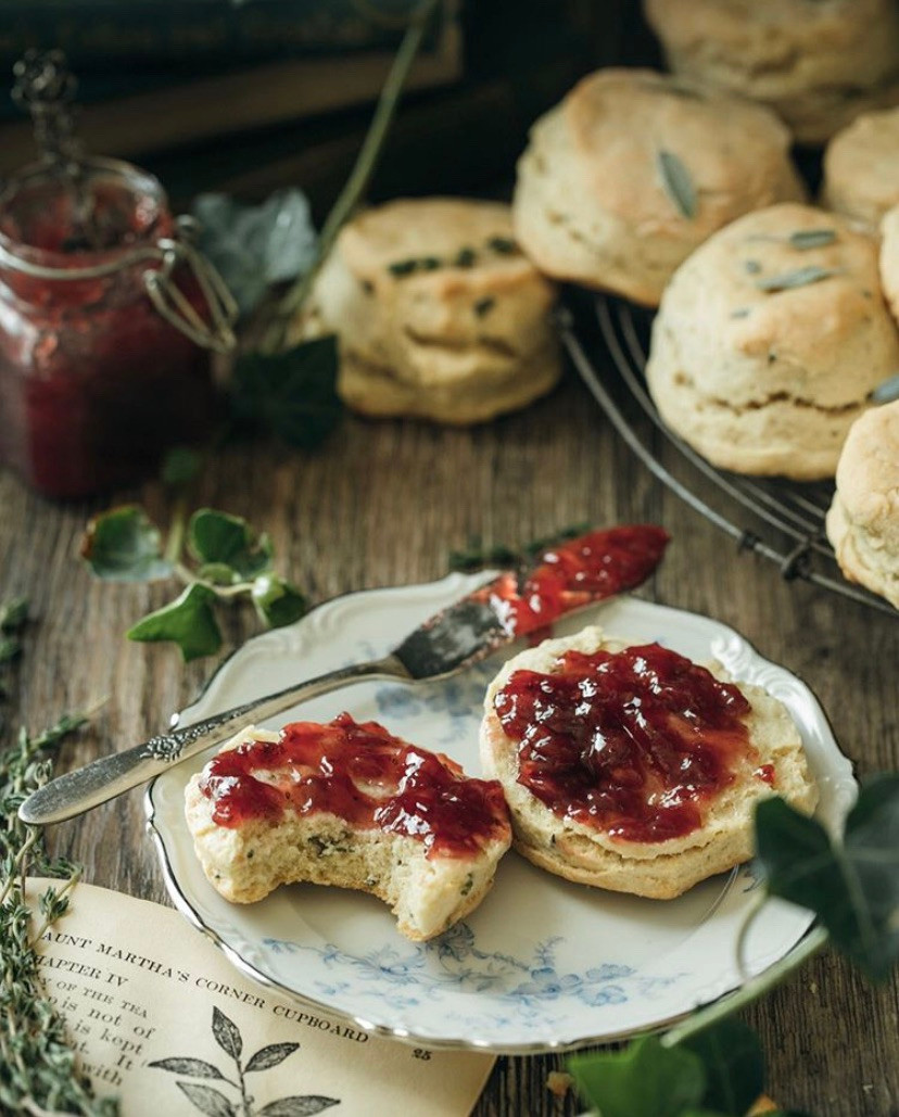 Scones And Jam, Simple Food That Will Make Your Day