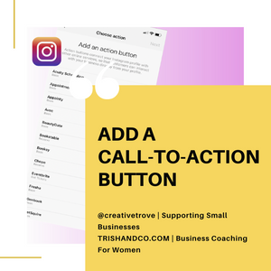 how to use call to action buttons for instagram business success