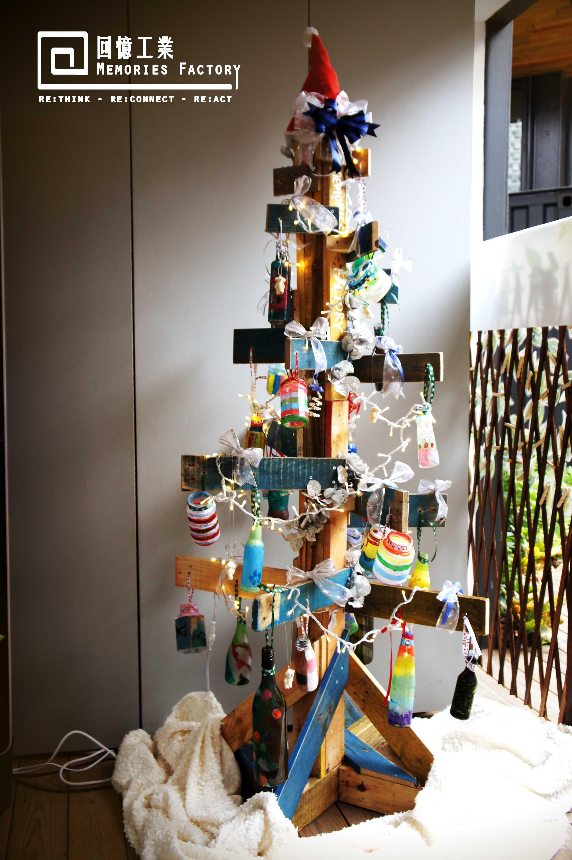 環保卡板聖誕樹