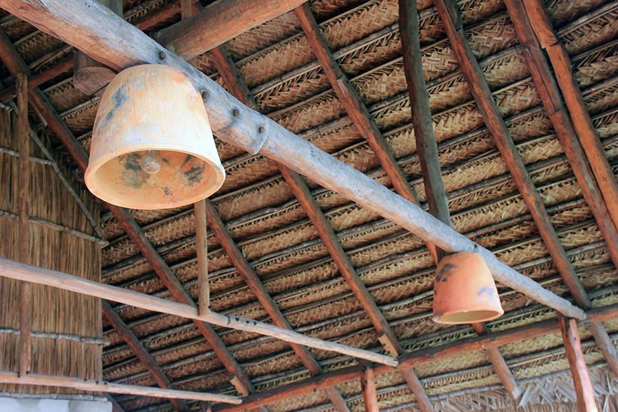 Clay pot lights