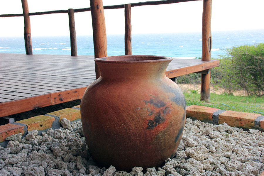 Local handcrafted clay pots