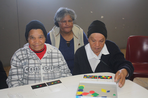 Support Group | Cognitive and perceptual stimulation exercises