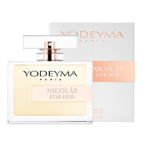 Yodeyma EDP Nicolás For Her