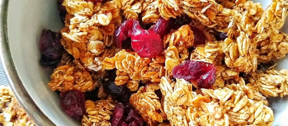 Crunchy Cranberry Almond Granola