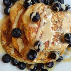 Savory and Healthy Vanilla Pancakes