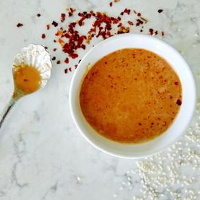 Healthy Thai Peanut Sauce (vegan, gluten free, oil free)