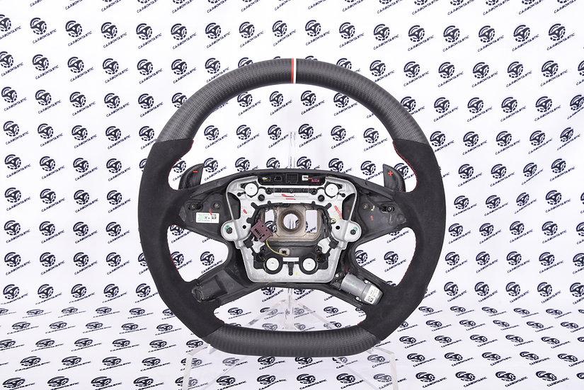 W204, W212 C-E Class Custom Carbon Fiber Steering Wheel (Non-Paddle Shifted)
