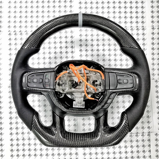 2019+ Ram Custom Carbon Fiber Steering Wheel