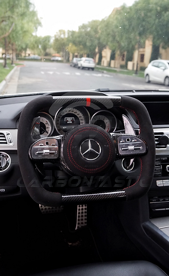 2019+ Mercedes-Benz AMG Carbontastic Concept One Steering Wheel