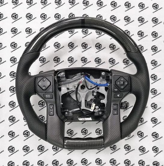 2016+ Toyota Tacoma Custom Carbon Fiber Steering Wheel