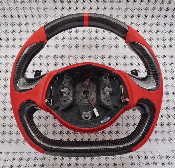 2016+ Alfa 4C Custom Carbon Fiber Steering Wheel