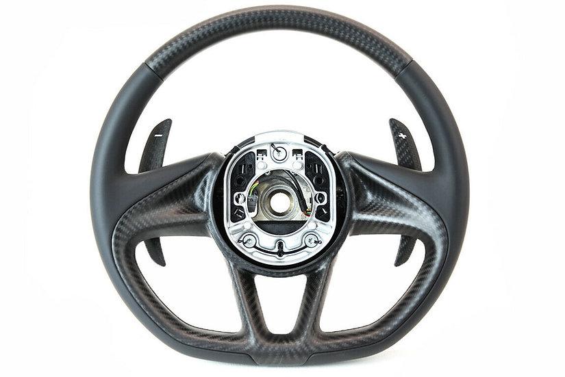 720S Custom Carbon Fiber Steering
