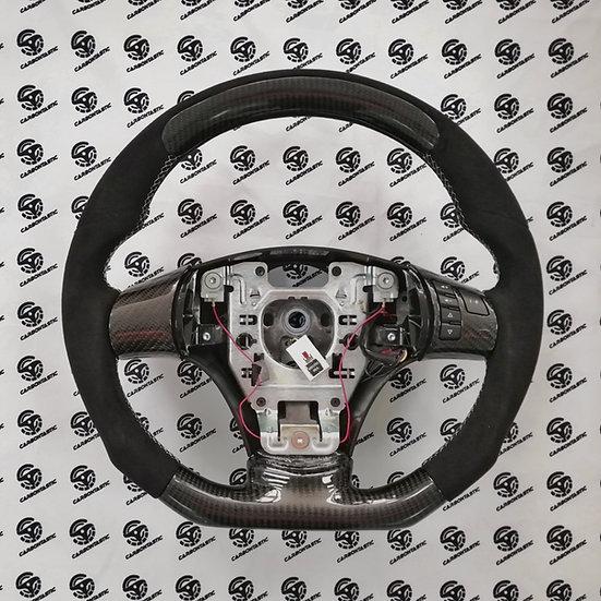 Corvette C6 Custom Carbon Fiber Steering Wheel Style 3 (Manual)