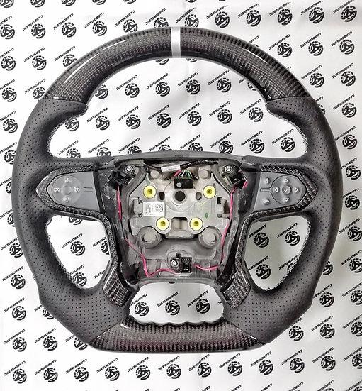 2015+ Chevy Suburban Custom Carbon Fiber Steering Wheel