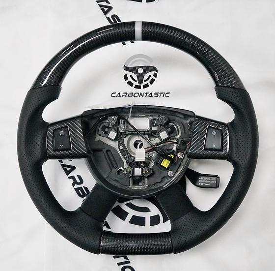 2008+ Jeep Grand Cherokee Custom Carbon Fiber Steering Wheel