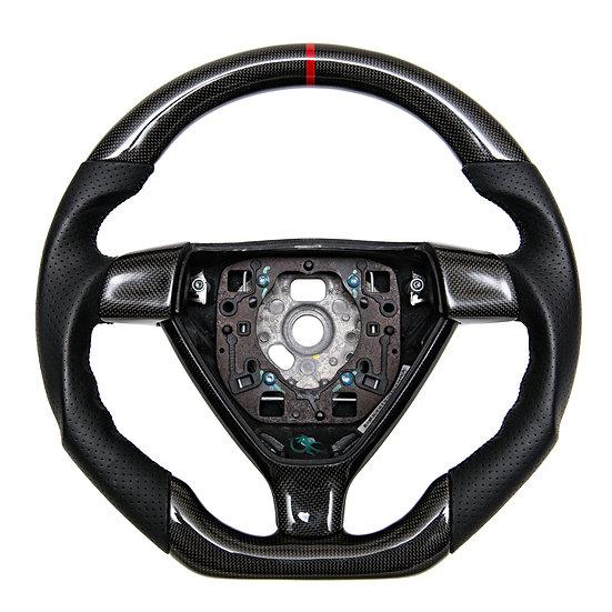 2005+ Porsche 911/Boxster/Cayman Custom Carbon Fiber Steering Wheel (Manual)