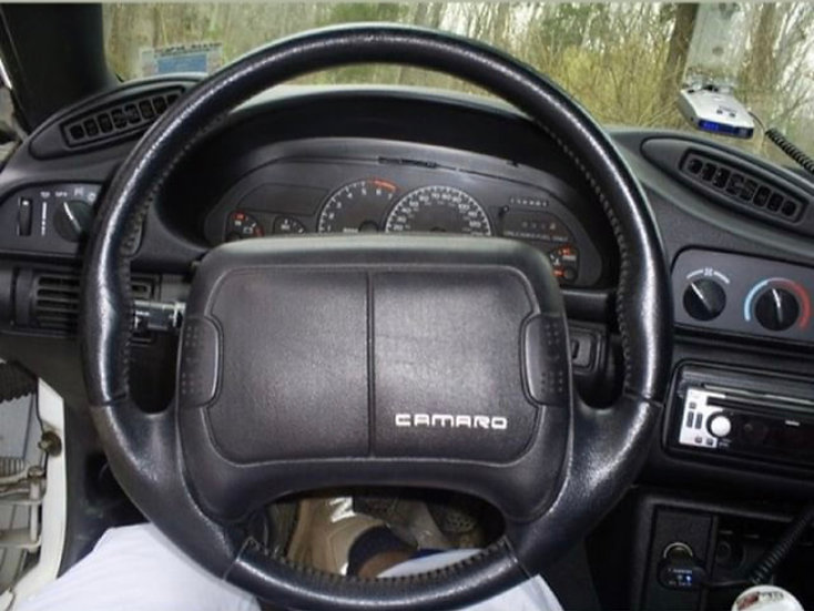 1993+ Camaro Custom Carbon Fiber Steering Wheel