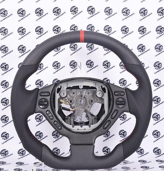 R35 GTR Custom Carbon Fiber Steering Style1