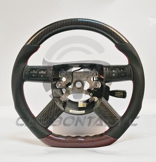 2008+ Charger/ Challenger Custom Carbon Fiber Steering Wheel