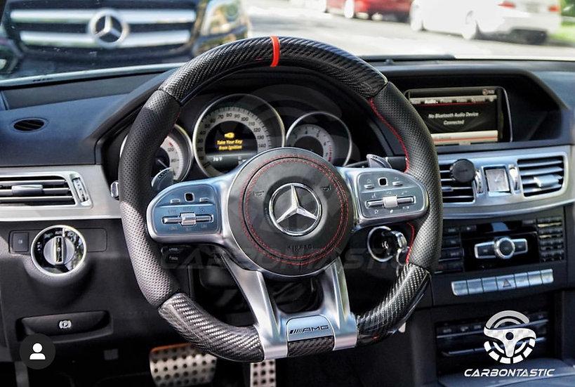 2019+ AMG Custom Carbon Fiber Steering Wheel