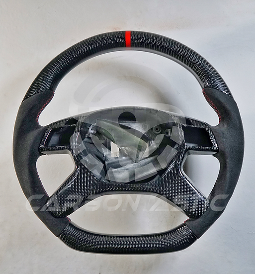 G-Class Custom Carbon Fiber Steering Wheel With Paddle Shifter Style 1