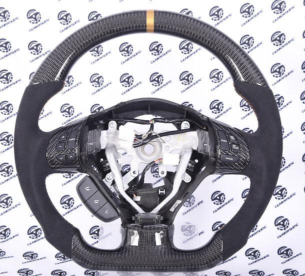 2011+ SUBARU IMPREZA WRX STI Custom Carbon Fiber Steering Wheel