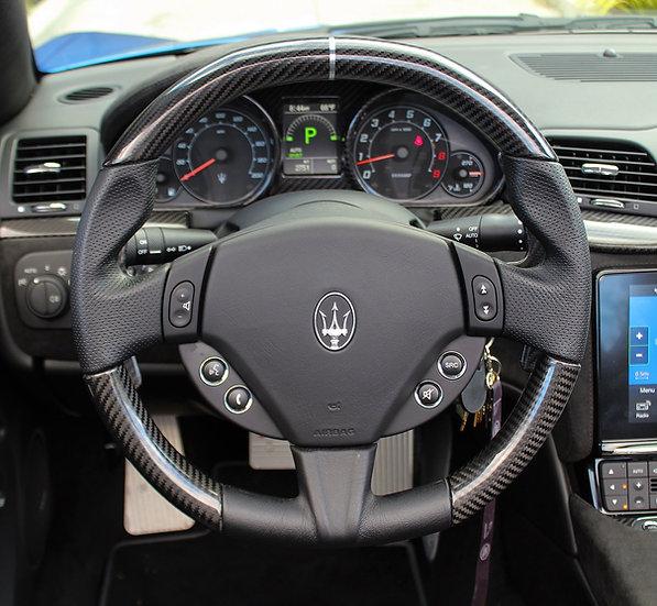 2010+Maserati Gran Cabrio|Gran Turismo|Quattropotre Custom Carbon Fiber Steering