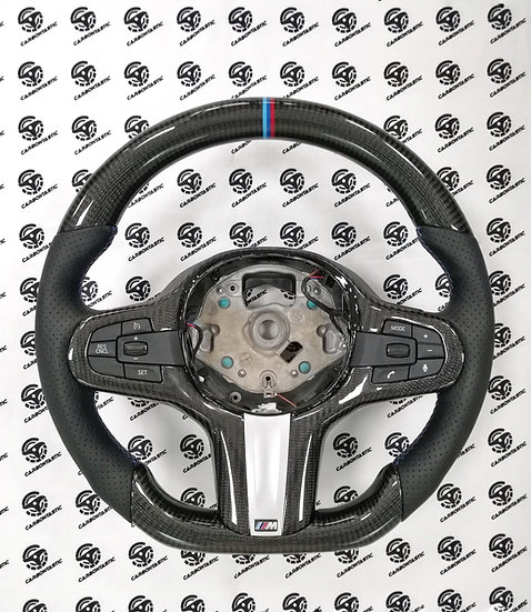 BMW G Serie Custom Carbon Fiber Steering Wheel Sport (NON-Paddle Shifted)