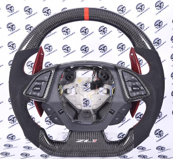 2016+ Camaro Custom Carbon Fiber Steering Wheel