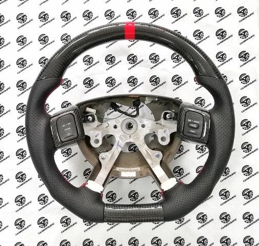 2004+ Ram 1500/2500/3500 Custom Carbon Fiber Steering Wheel
