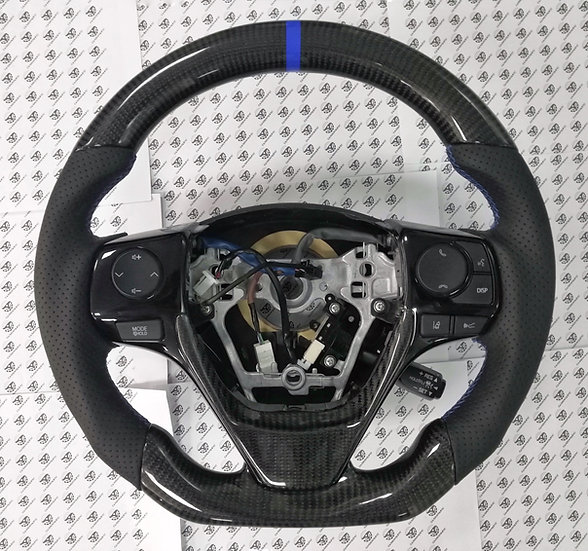 2014-2018 Toyota Corolla Custom Carbon Fiber Steering Wheel