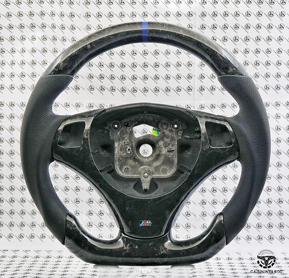 E82/88/90/92/93 Carbon Fiber Steering Wheel Style 1(Manual)