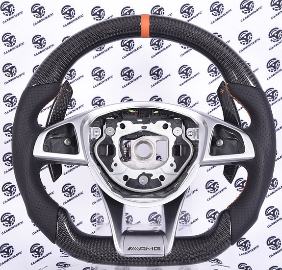 2015-2018 Mercedes-Benz AMG Custom Carbon Fiber Steering Wheel