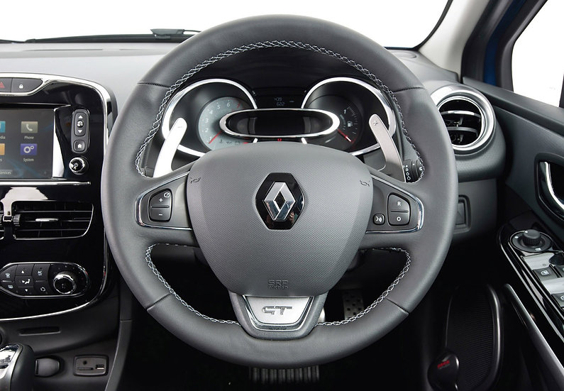 2016 Renault Clio Custom Carbon Fiber Steering With Paddle Shifte