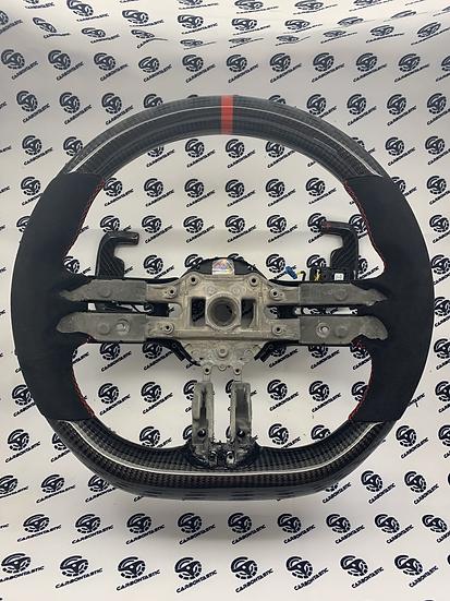 2021+ AMG Custom Carbon Fiber Steering Wheel (Vehicle with Drive Unit Screen)
