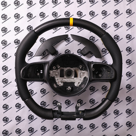 2019+ AMG Custom Carbon Fiber Steering Wheel (For Vehicle With Drive Unite)