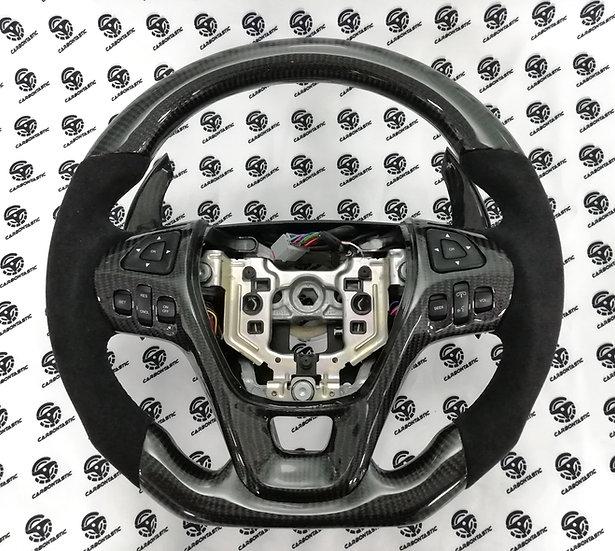 2013+ Ford Taurus SHO custom carbon fiber steering wheel (Paddle Shifted)