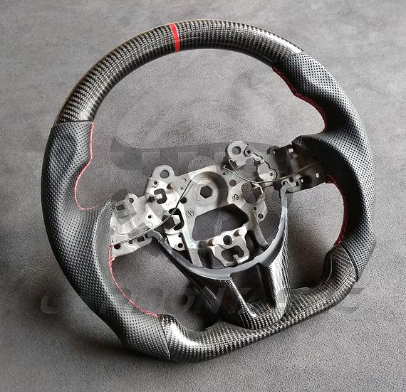 2014+ Mazda 3 Custom Carbon Fiber Steering Wheel