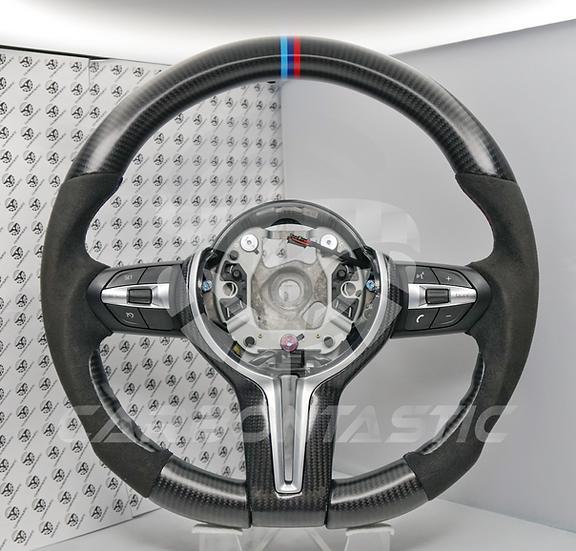 F Series 1-4 | X 1-6 | M2, M3, M4 Manual Vehicle's Carbon Fiber Steering