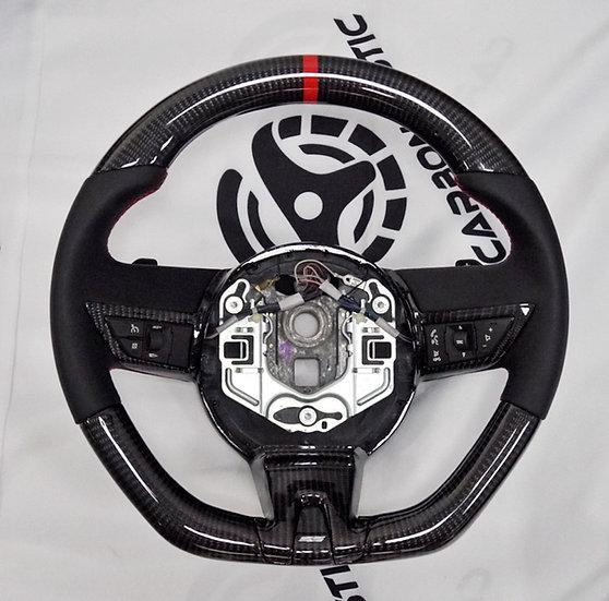 2010+ Camaro Custom Carbon Fiber Steering Wheel (Shift buttons at the back)