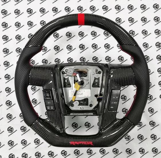 2011+ Ford F-150/Raptor Custom Carbon Fiber Steering Wheel