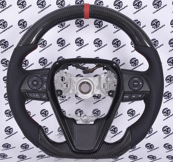 2019+ Toyota Camry Custom Carbon Fiber Steering Wheel