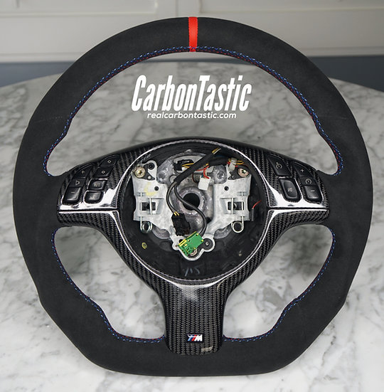 E46/E39 Full Alcantara Steering Wheel (Manual)