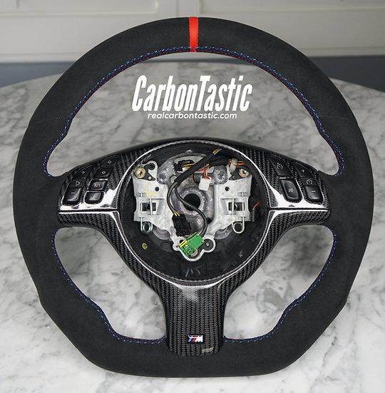 E46/E39 Full Alcantara Steering Wheel (Manual)