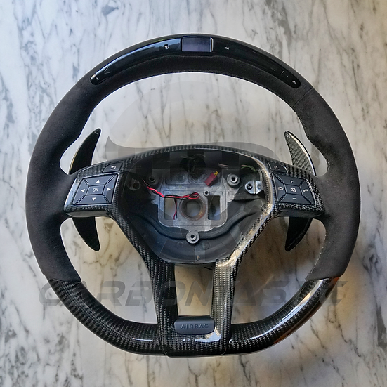 W204 Mercedes-Benz Custom LCD Screen Shift Light Steering Wheel
