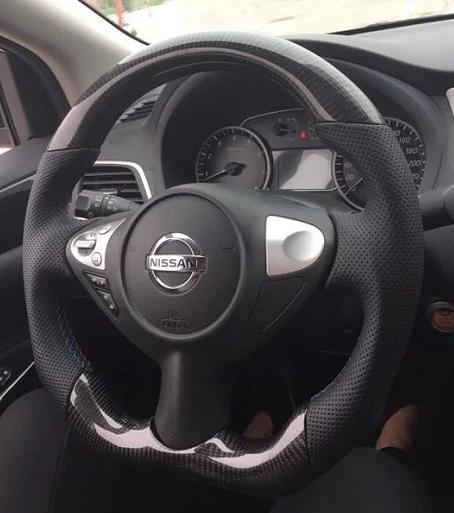 370Z, FX35, FX37, FX30D, QX70, QX70D, JUKE |Custom Carbon Fiber Steering Wheel