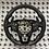 Thumbnail: 2015-2018 Ford Edge/Fusion Custom Carbon Fiber Steering Wheel(Paddle Shifted)