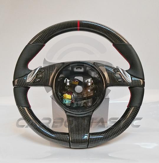 2011+ Porsche PDK Custom Carbon Fiber Steering Wheel