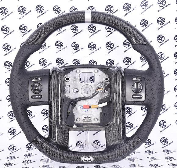 2011-2016 Ford F-250/350 Custom Carbon Fiber Steering Wheel